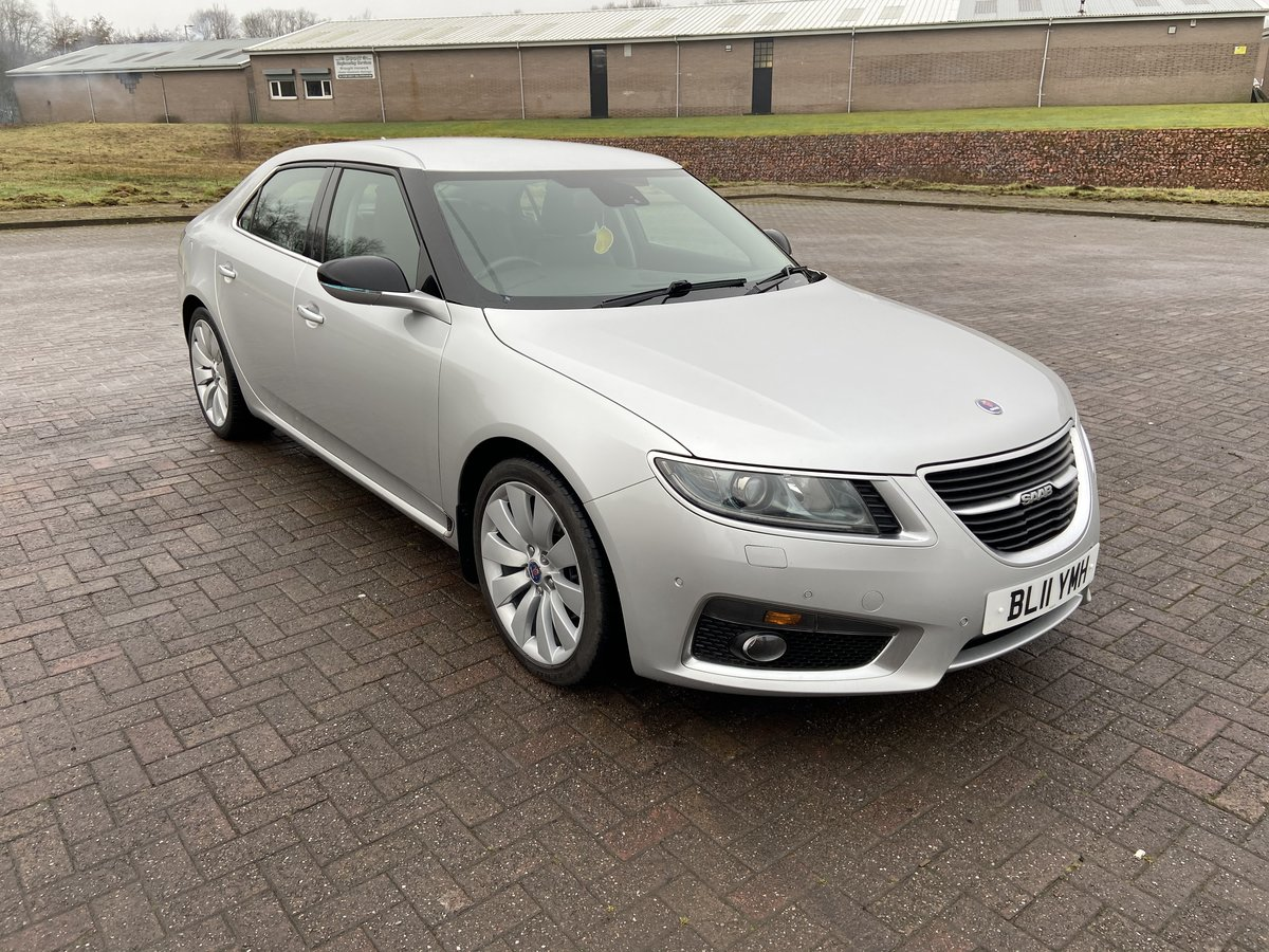 2011 SAAB 9-5 AERO TTID For Sale (picture 1 of 6)