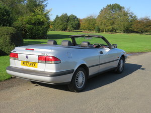 1995 Saab 900 Low mileage auto convertible For Sale