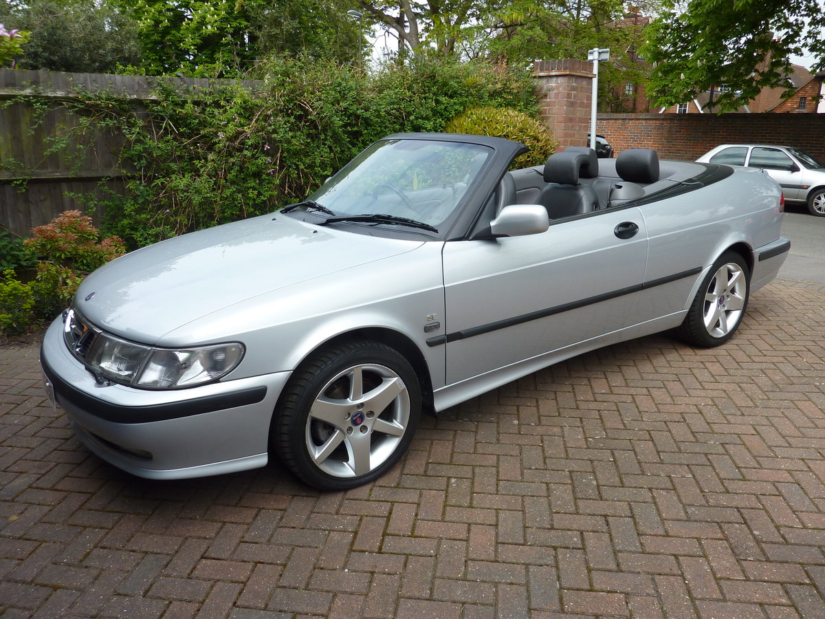 2000 Saab 93 SE  Automatic Low Mileage For Sale (picture 1 of 6)