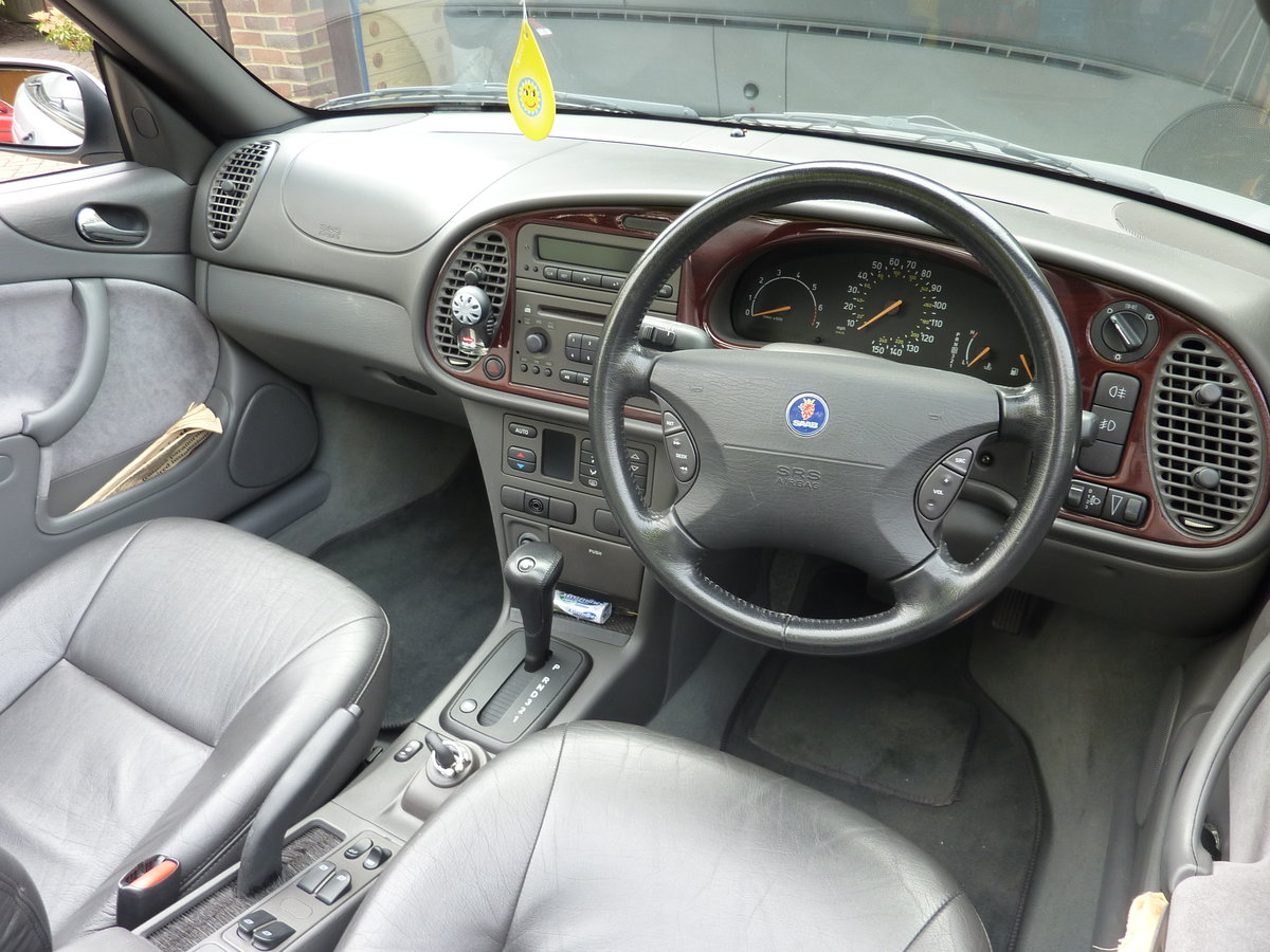 2000 Saab 93 SE  Automatic Low Mileage SOLD (picture 3 of 6)