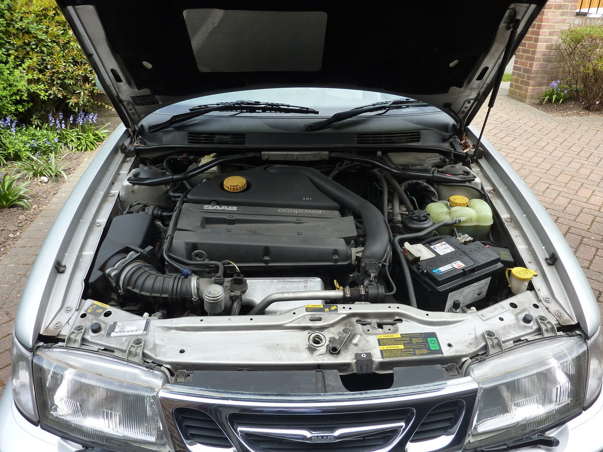 2000 Saab 93 SE  Automatic Low Mileage For Sale (picture 5 of 6)