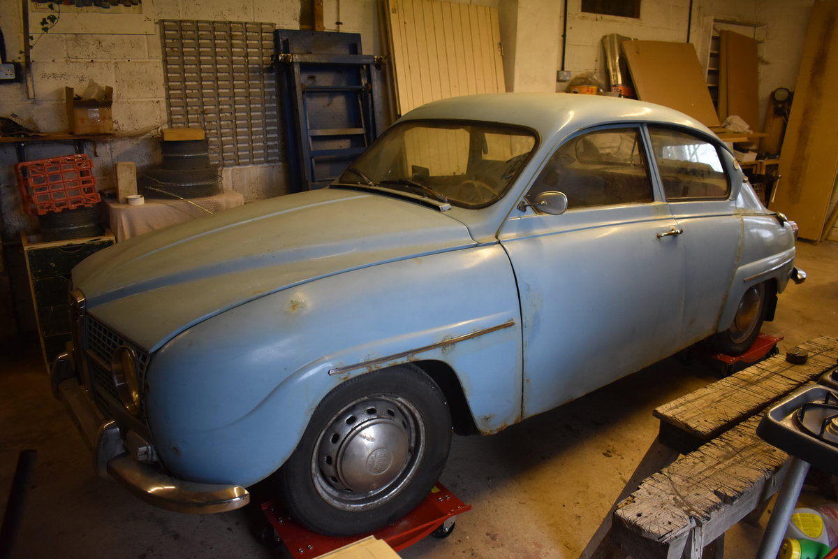 Lot 1 A 1966 Saab 96 Project 09 2 2020 Sold By Auction Car And Classic