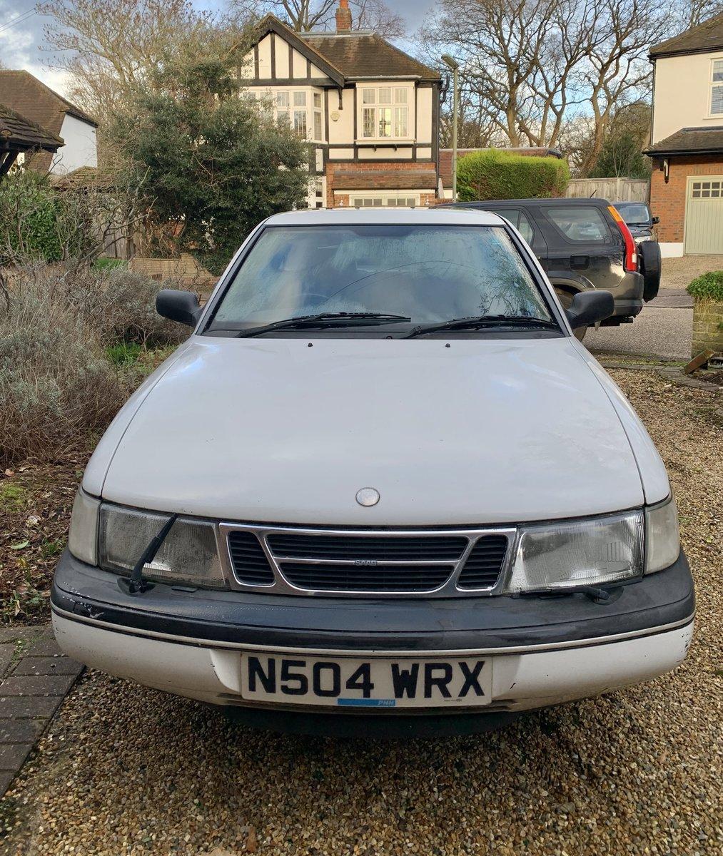 1996 Saab 900S 3 Door Hatchback For Sale (picture 1 of 6)