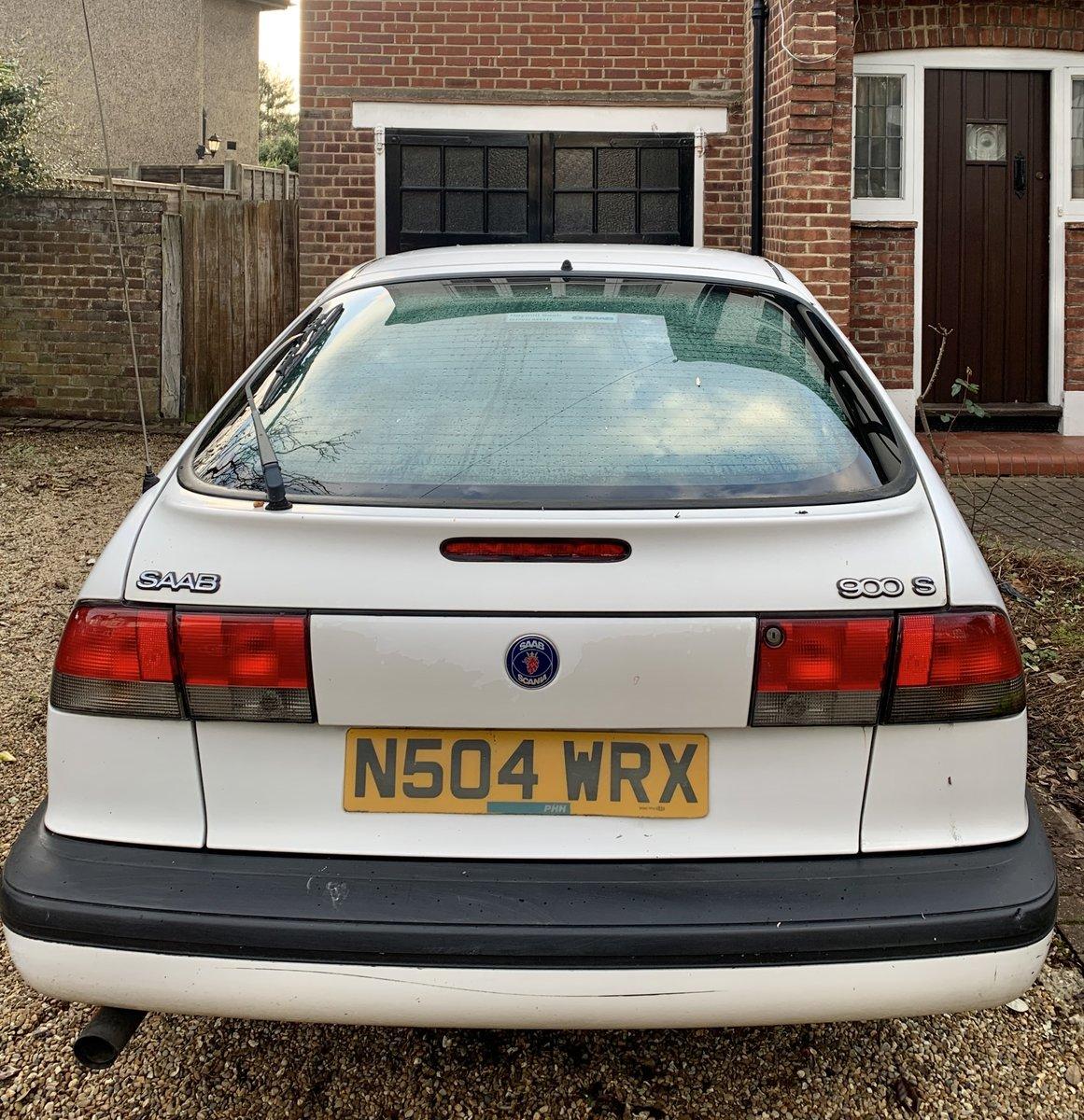 1996 Saab 900S 3 Door Hatchback For Sale (picture 4 of 6)