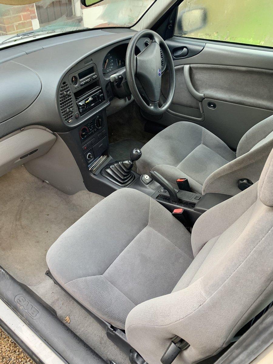 1996 Saab 900S 3 Door Hatchback For Sale (picture 5 of 6)