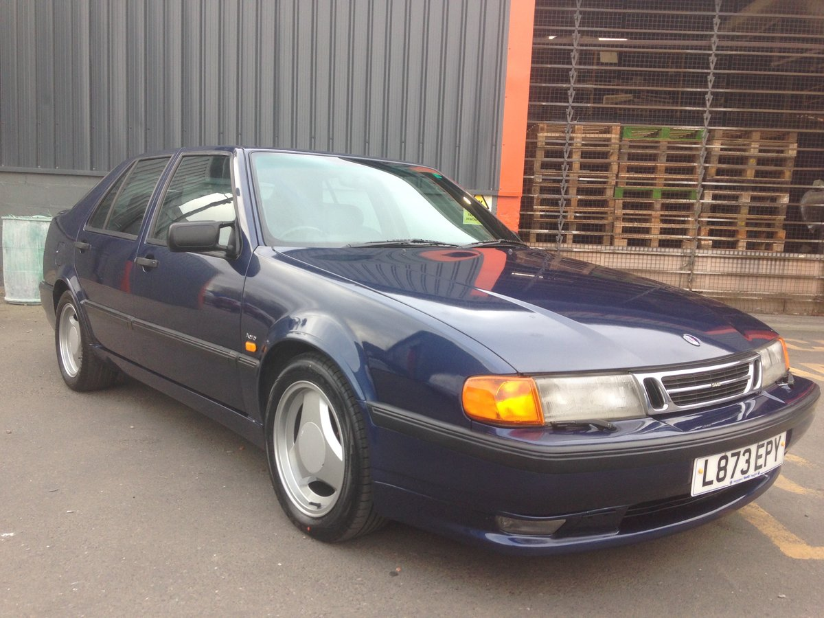 1993 SAAB 9000 AERO 2.3T MANUAL RESTORED For Sale (picture 1 of 6)