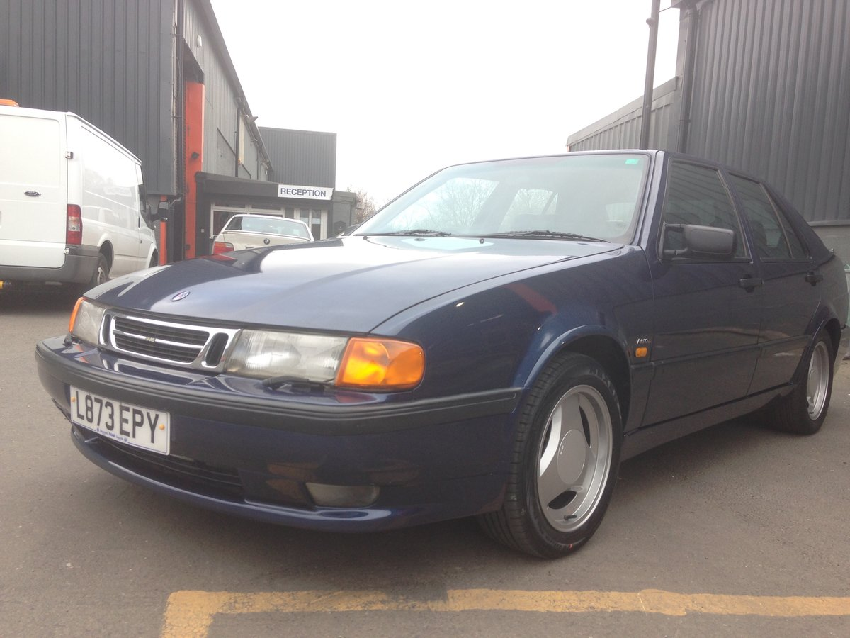 1993 SAAB 9000 AERO 2.3T MANUAL RESTORED For Sale (picture 2 of 6)