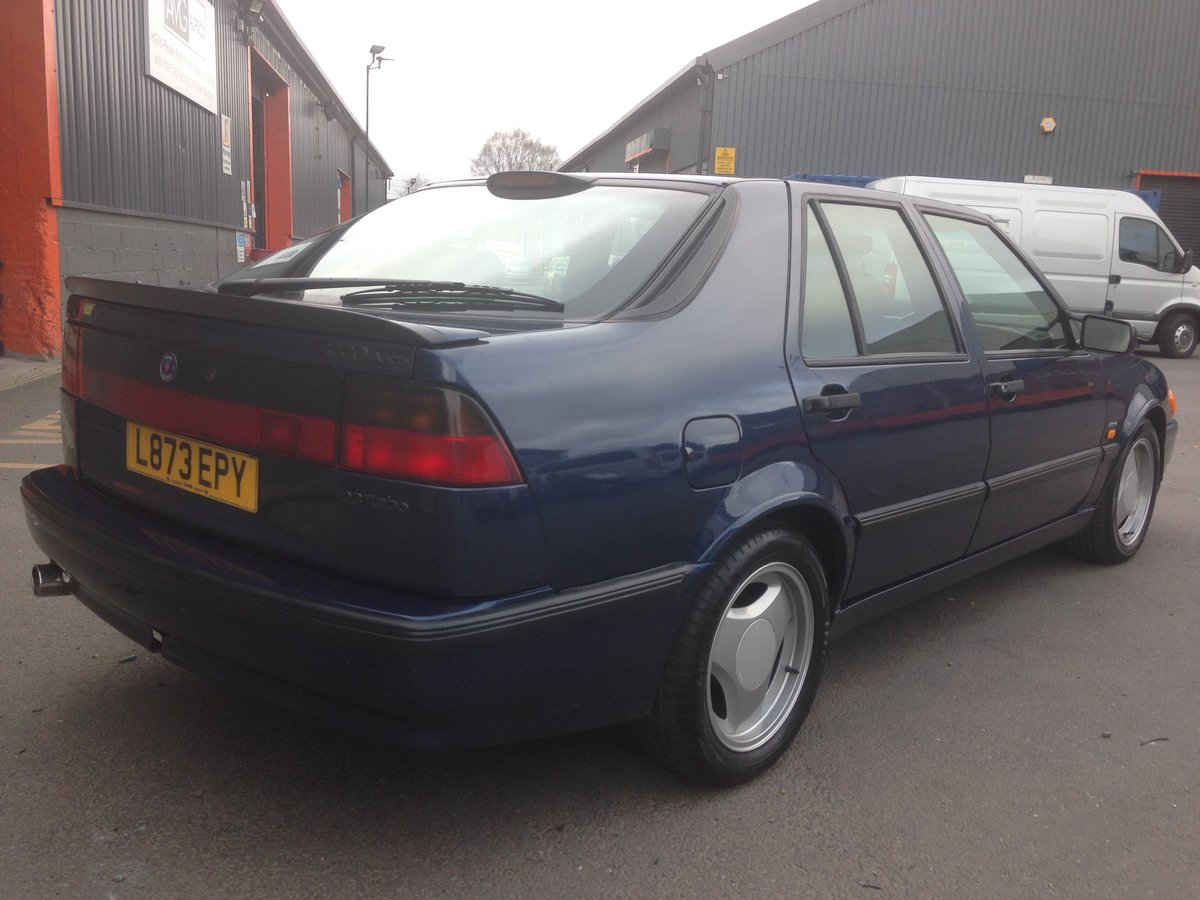 1993 SAAB 9000 AERO 2.3T MANUAL RESTORED For Sale (picture 3 of 6)