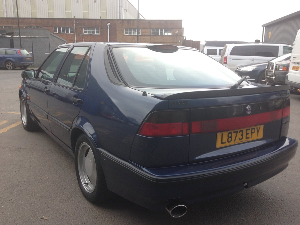 1993 SAAB 9000 AERO 2.3T MANUAL RESTORED For Sale (picture 4 of 6)