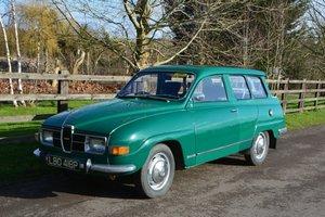 1975 Saab 95 V4 Estate For Sale by Auction