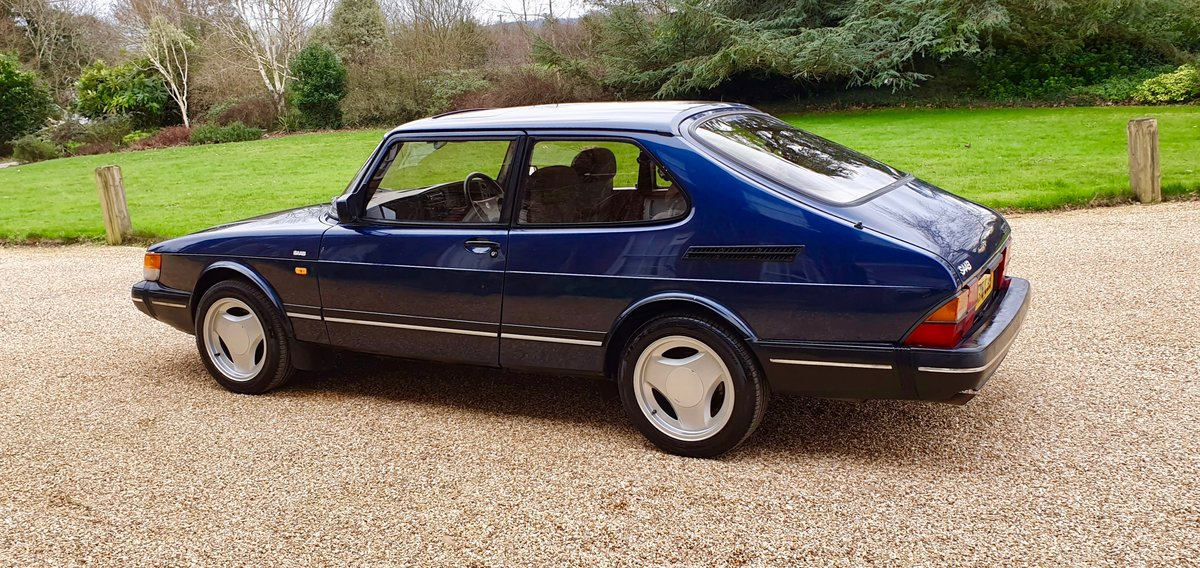 1992 Saab 900 XS - Immaculate Condition (Deposit Taken) For Sale (picture 2 of 6)