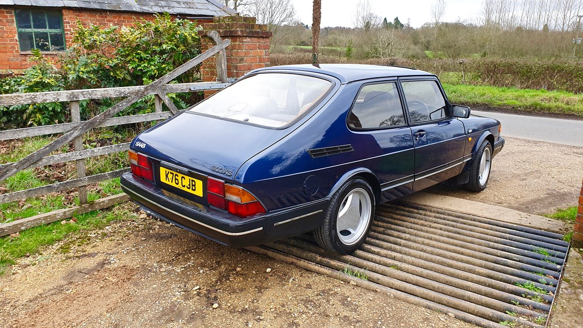 1992 Saab 900 XS - Immaculate Condition (Deposit Taken) For Sale (picture 3 of 6)
