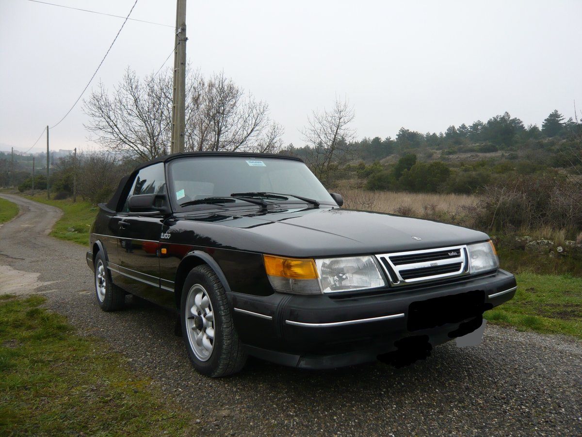 1987 Saab 900 cabriolet immaculate rust-free  For Sale (picture 2 of 6)