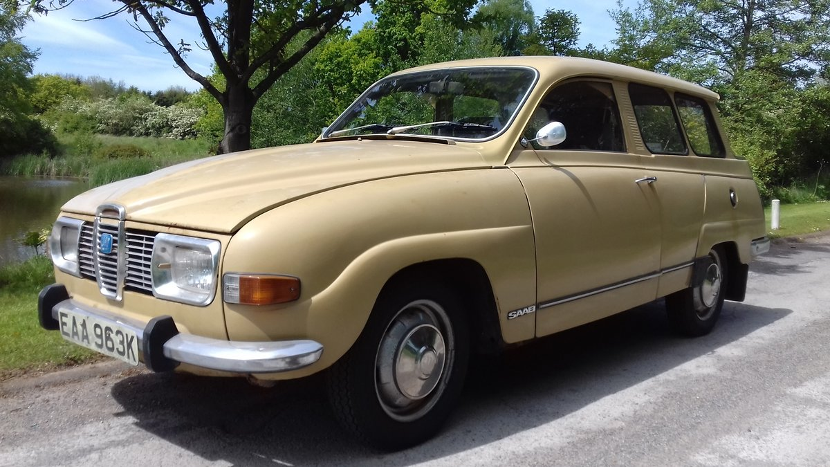 1972 SAAB 95 V4 STATION WAGON ~ USE & IMPROVE ~ DRIVES WELL SOLD (picture 1 of 6)