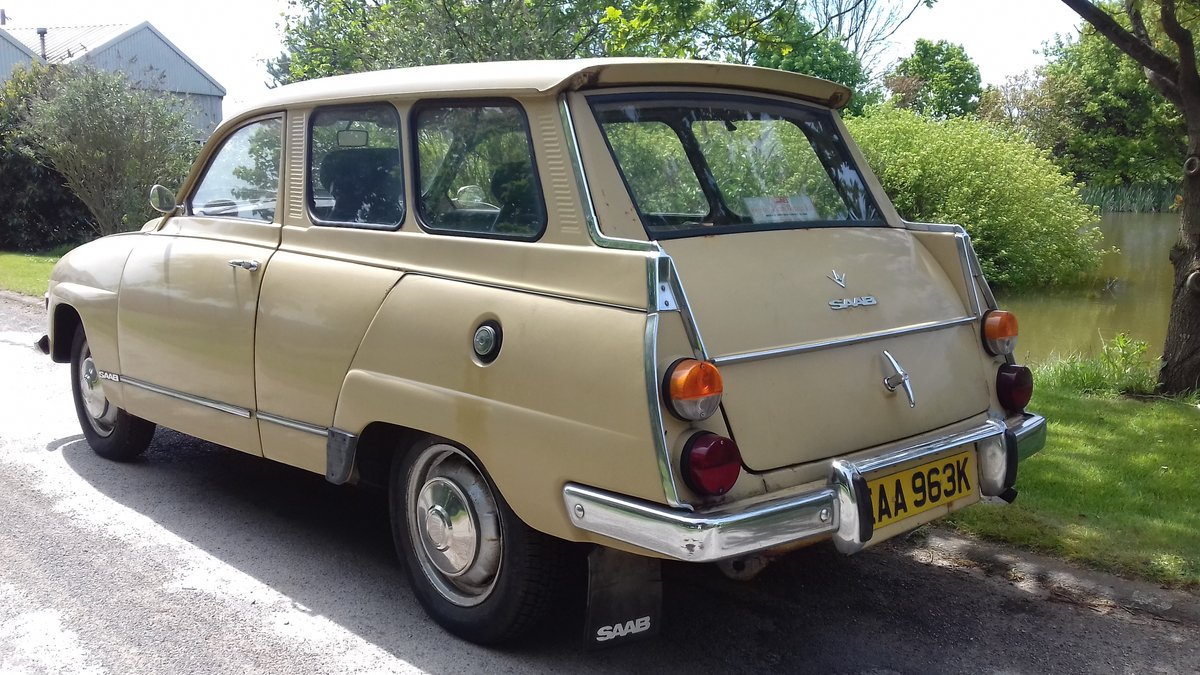 1972 SAAB 95 V4 STATION WAGON ~ USE & IMPROVE ~ DRIVES WELL SOLD (picture 2 of 6)
