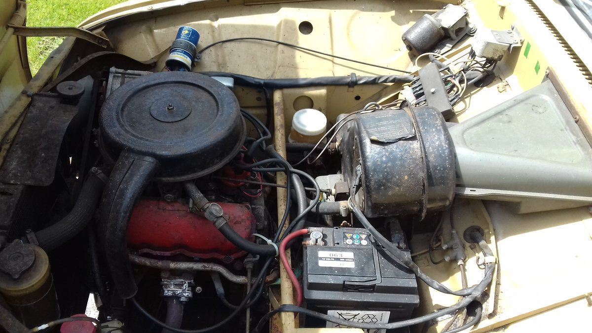1972 SAAB 95 V4 STATION WAGON ~ USE & IMPROVE ~ DRIVES WELL SOLD (picture 6 of 6)