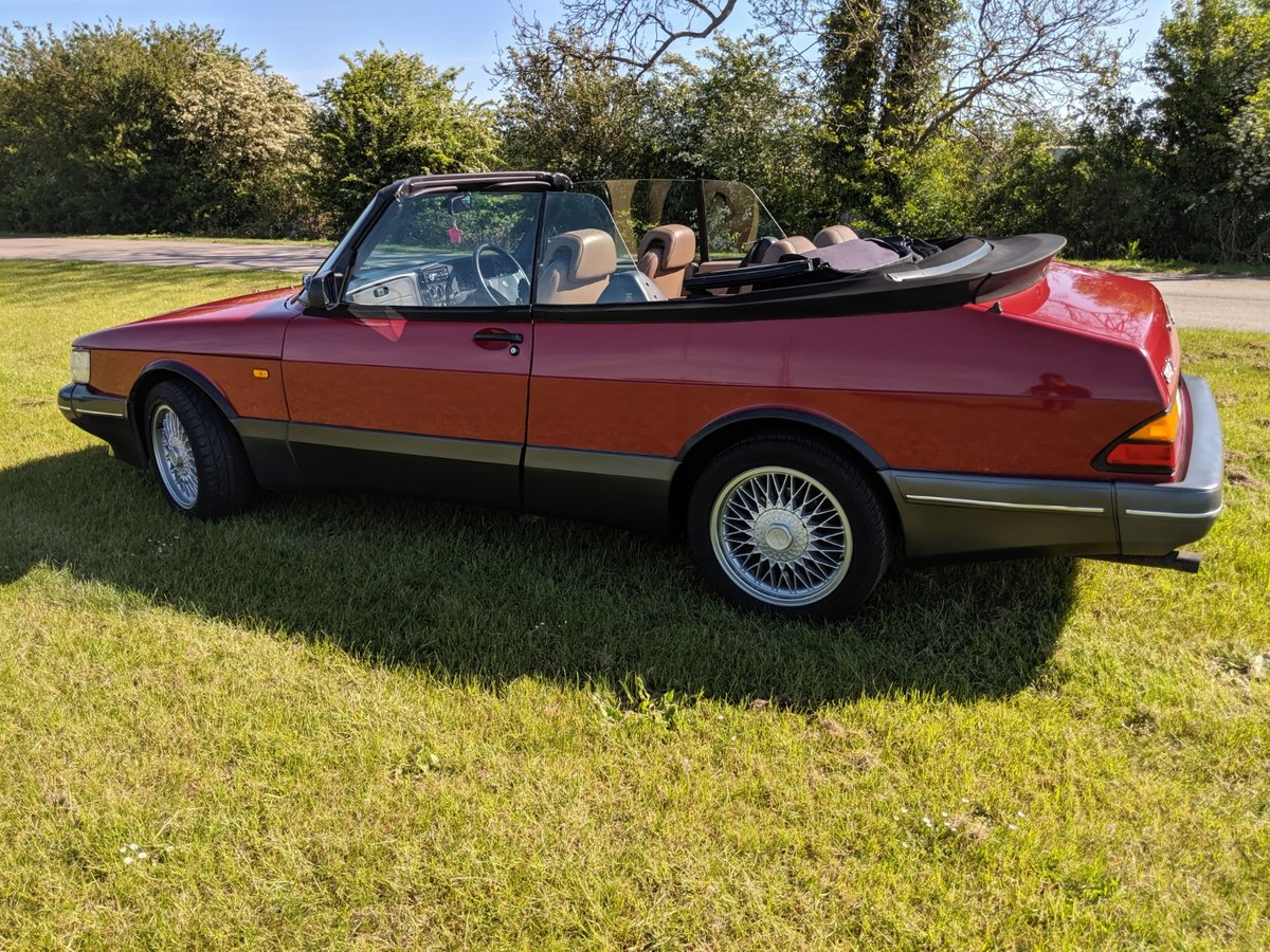 1989 Saab 900 T16S Aero Convertible T5 Trionic Conversion For Sale (picture 4 of 6)