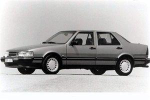 1990 Saab 9000 CDI grey. Classic showroom condition