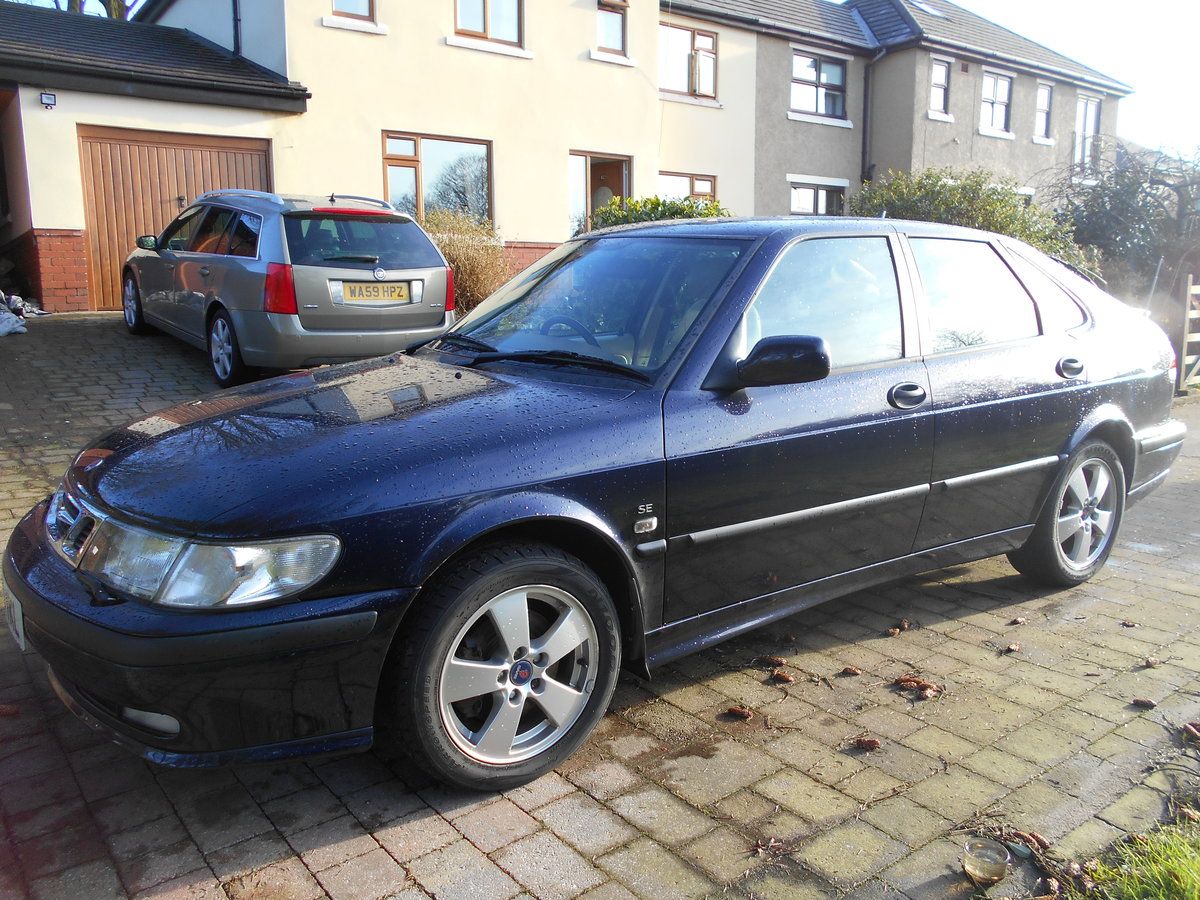 2002 Saab 9-3 SE Turbo 16000 Miles For Sale (picture 1 of 6)
