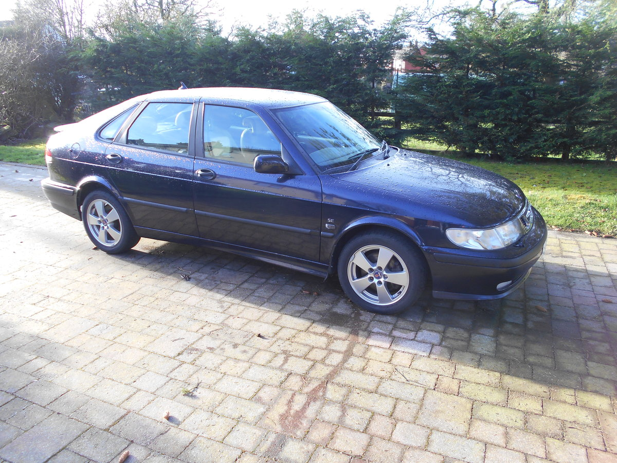 2002 Saab 9-3 SE Turbo 16000 Miles For Sale (picture 2 of 6)