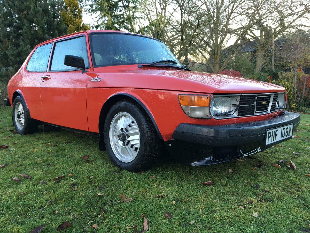1981 Saab 99 Turbo 2Dr Red SOLD (picture 1 of 6)