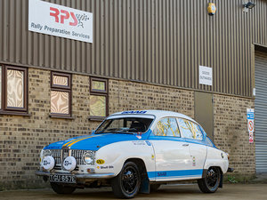 1967 Saab 96 1500 V4 Classic Rally Car
