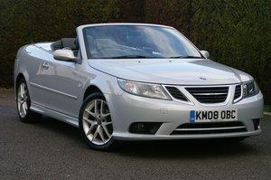 2008 Saab 9-3 2.0t Vector Convertible Auto - 28,000 miles
