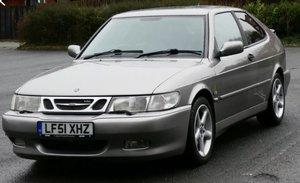 2001 Saab 9-3 Aero HOT Turbo coupe