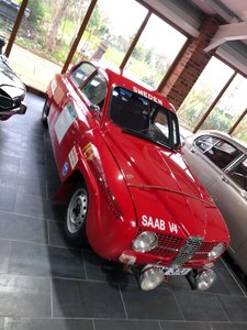 Saab Historic Rally Car