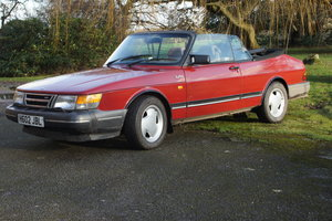 1990 Saab 900 Classic Turbo 16 (FPT) Cabriolet