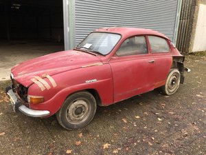 1971 Reduced: V4 Saab 96, Hampshire, £500