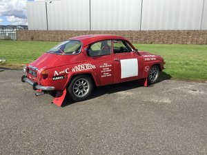Saab 96 rally car - Right Hand Drive