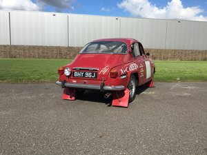 1971 Saab 96 rally car - Right Hand Drive