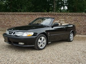 Saab 9-3 2.0 Turbo Convertible only 58.836 miles, two owners