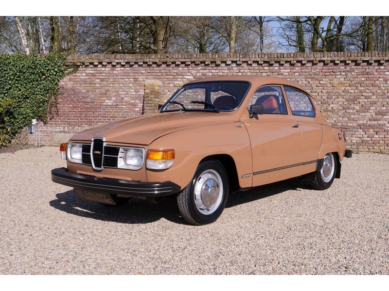 1977 Saab 96 GL V4 in a superb original condition, 80% first pain For Sale (picture 1 of 6)