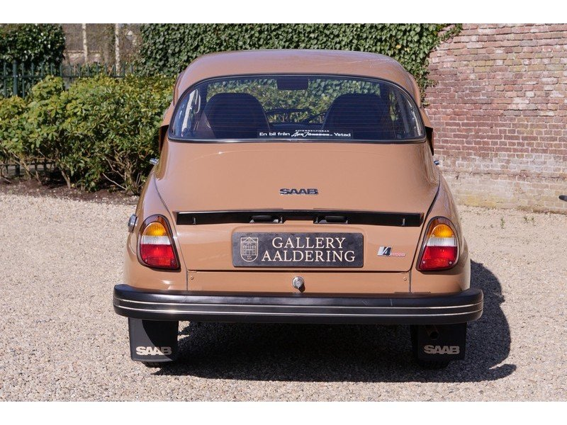 1977 Saab 96 GL V4 in a superb original condition, 80% first pain For Sale (picture 4 of 6)