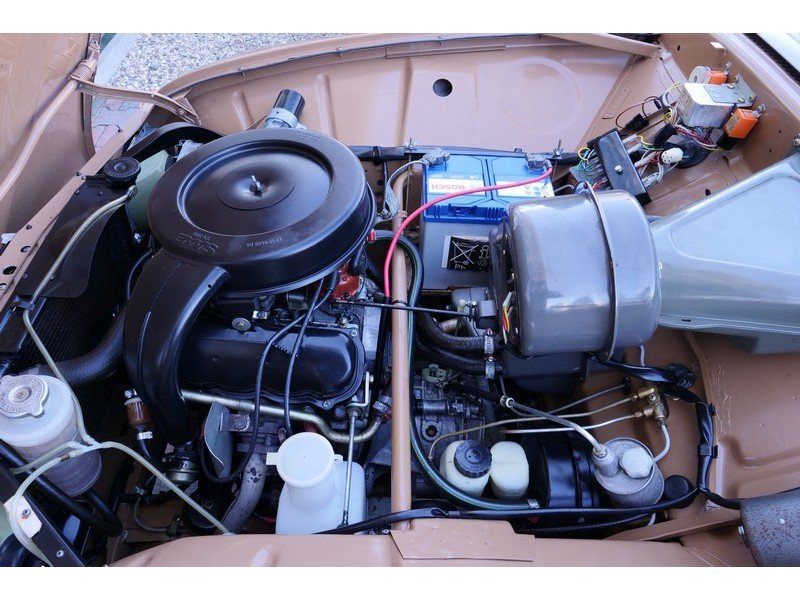 1977 Saab 96 GL V4 in a superb original condition, 80% first pain For Sale (picture 6 of 6)