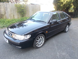 1998 Saab 9-3 2.0.i SE AUTOMATIC  BLACK A1 MINT CONDITION
