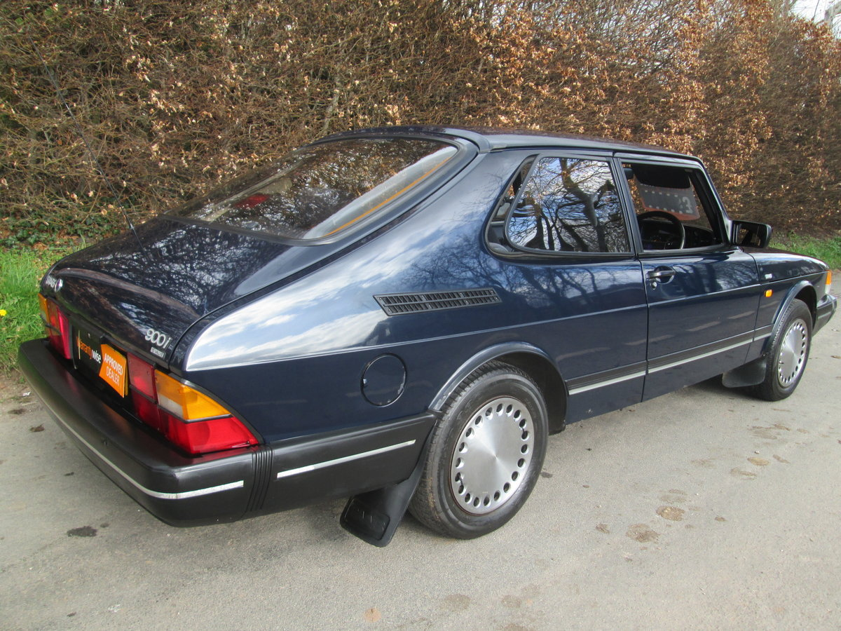 1989 One owner saab 900i all the history For Sale (picture 3 of 6)