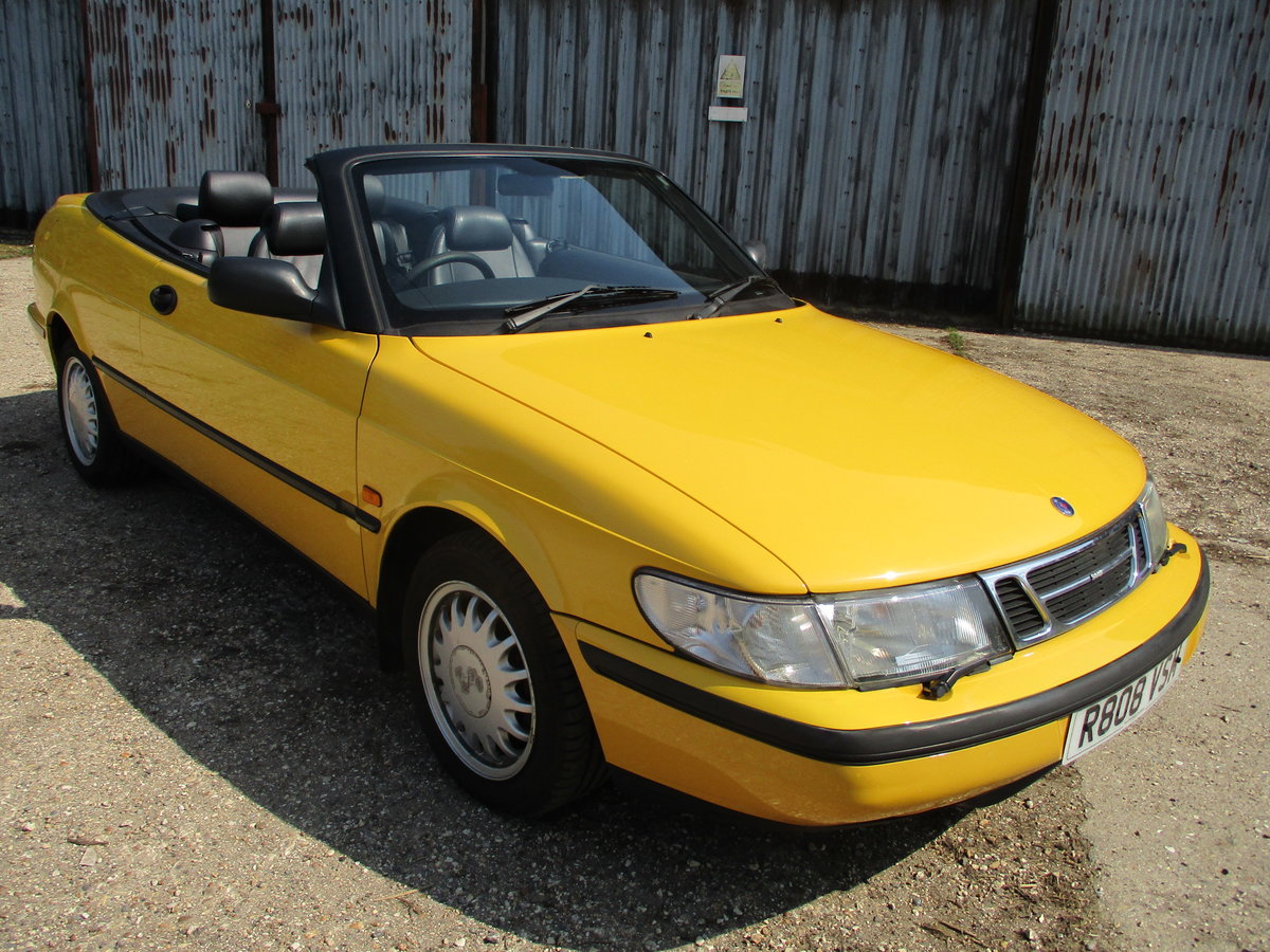 1998 Saab 900S 2.3 Convertible Automatic SOLD (picture 1 of 6)