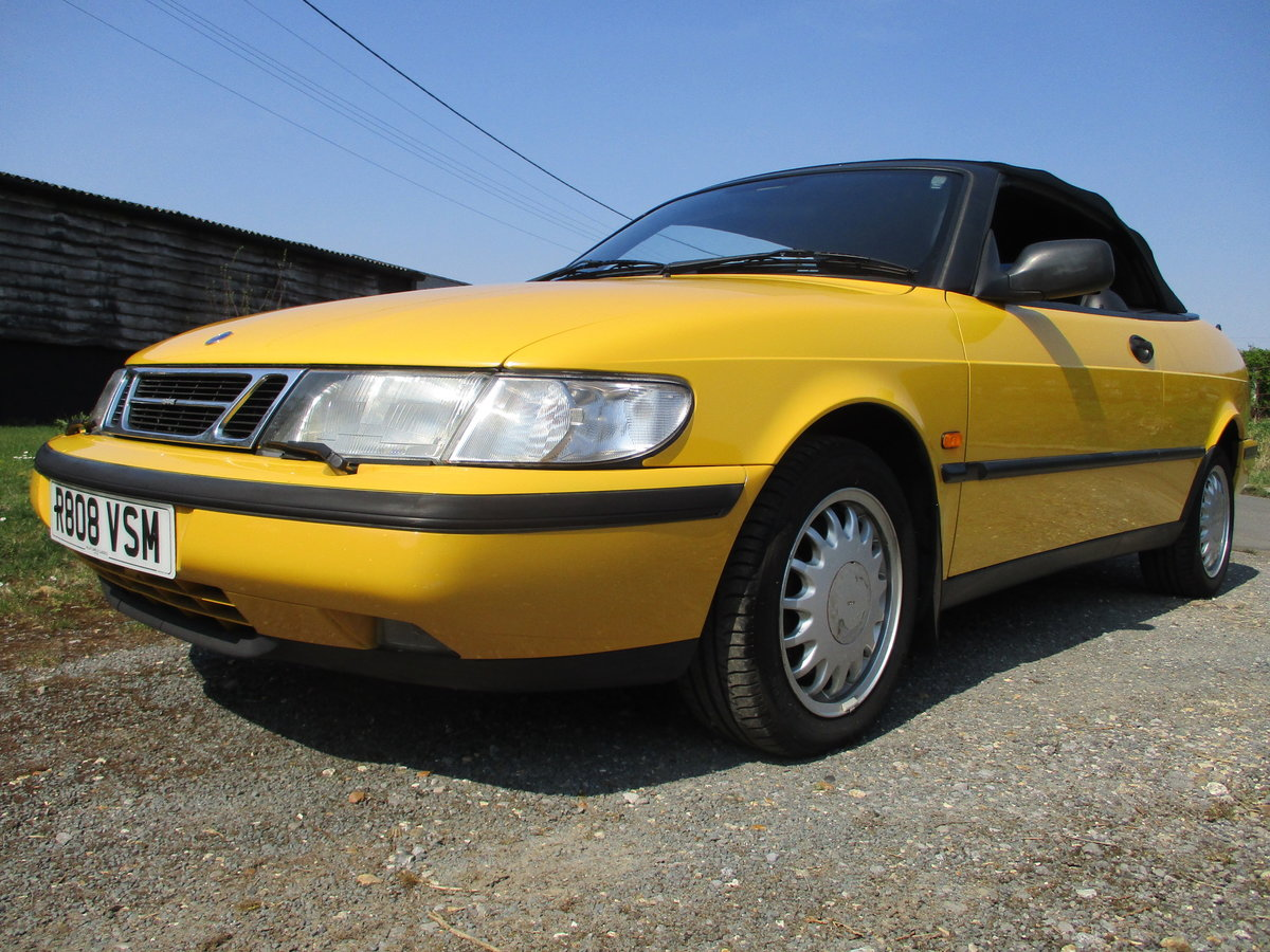 1998 Saab 900S 2.3 Convertible Automatic SOLD (picture 3 of 6)