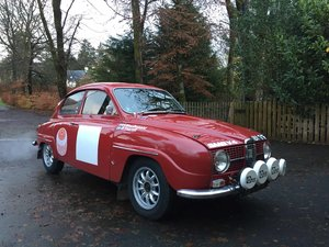 1967 SAAB 96 V4 HISTORIC RALLY CAR XBY 171 F SOLD