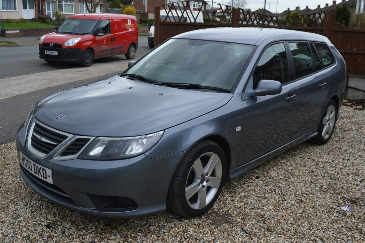 2010 Saab 9-3 1.9 TiD Turbo Edition SportWagon 5dr MANUAL For Sale (picture 1 of 6)