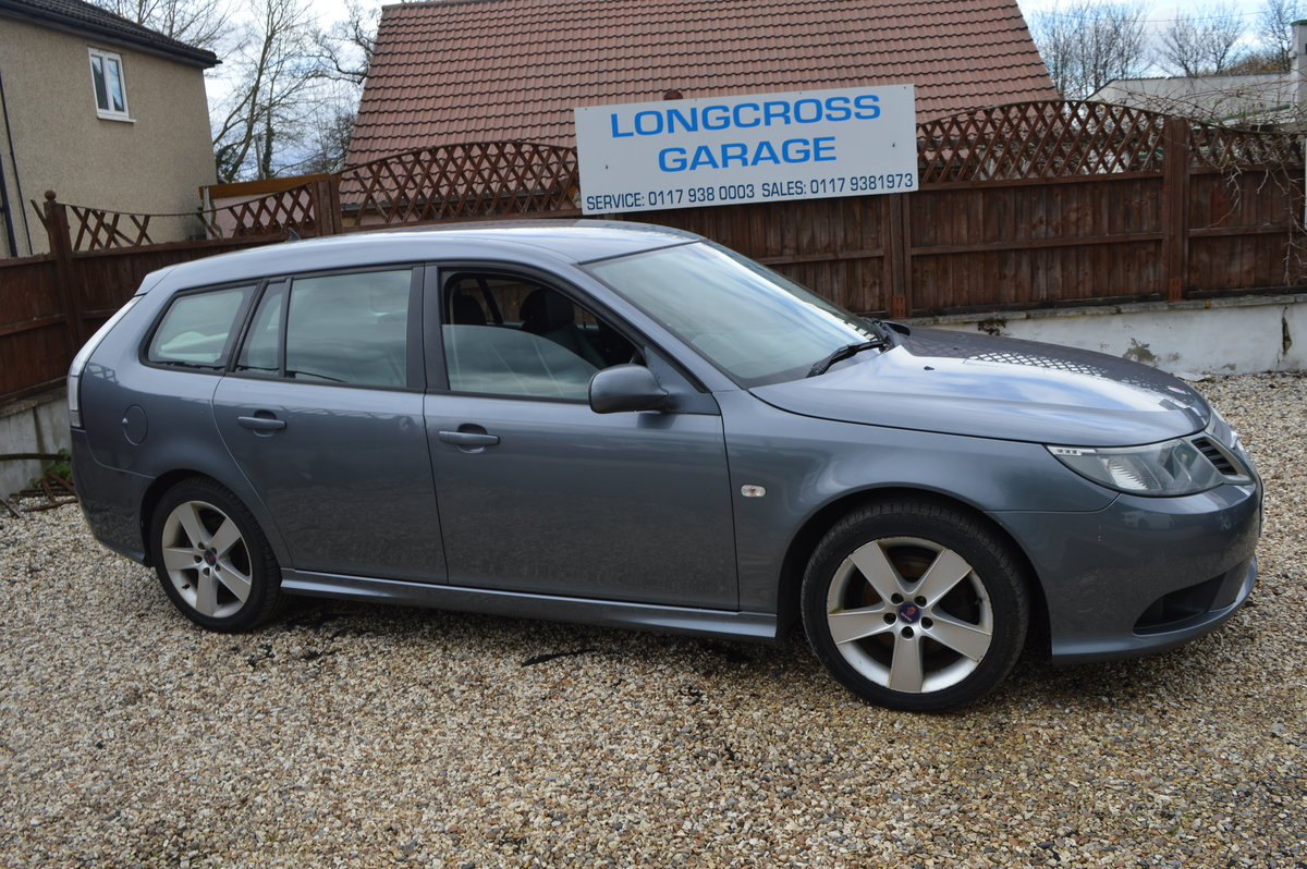 2010 Saab 9-3 1.9 TiD Turbo Edition SportWagon 5dr MANUAL For Sale (picture 2 of 6)