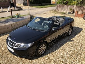 Outstanding Black Saab Convertible!!!