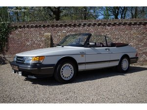 1988 Saab 900 Classic 16V Turbo Intercooler Convertible For Sale