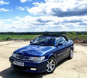 Saab 93 Cabriolet LOW MILES HOT AERO
