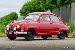Unique classic Saab Sport 850  (LHD)  1964