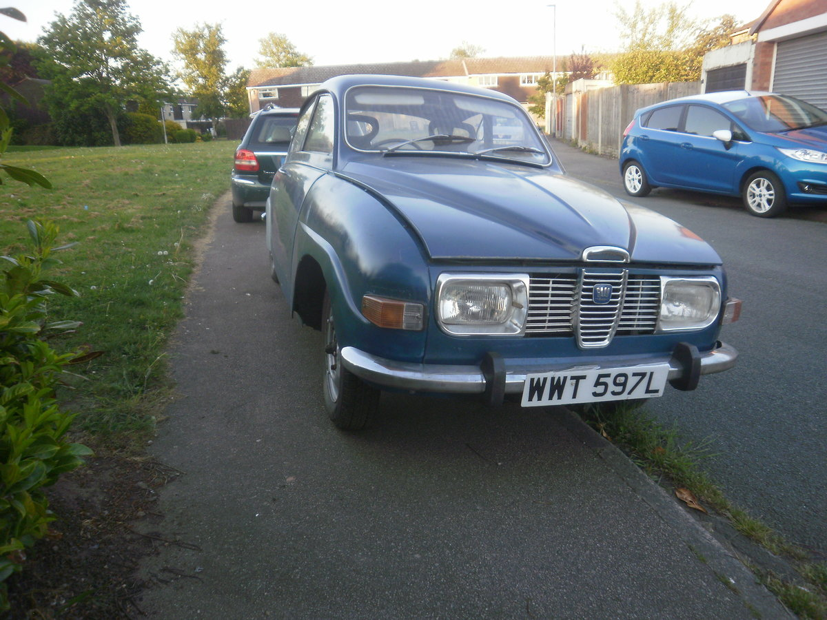 1973 Saab V4 with much work done For Sale (picture 1 of 6)