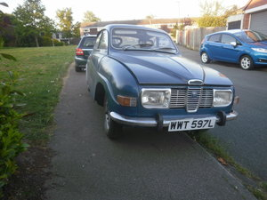 Picture of 1973 Saab V4 with much work done